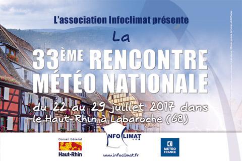 33ème rencontre météo nationale Infoclimat à Labaroche