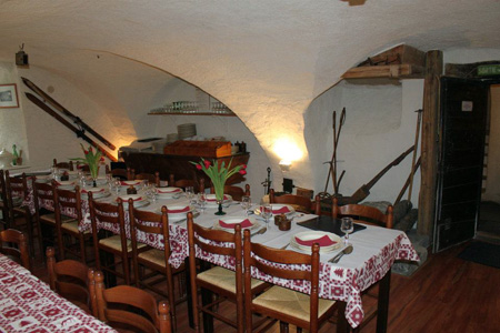 Salle à manger de l'Auberge