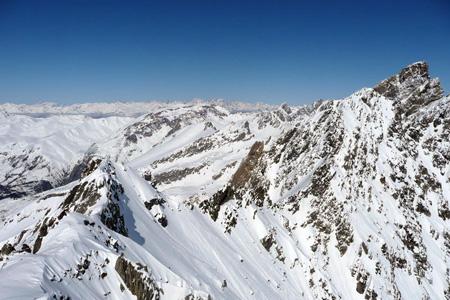 Les sommets entre Haute-Ubaye, Queyras et Italie