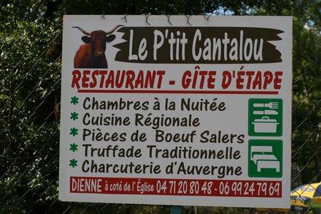 Gîte Le Petit Cantalou à Dienne